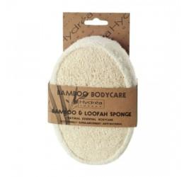 Natural Sea Sponge Company Bamboo & Loofah Sponge in Packaging