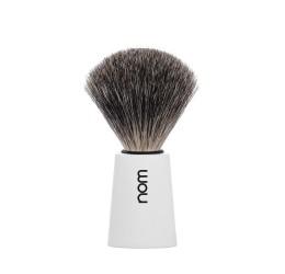 Nom Carl Pure Badger Shaving Brush (White)