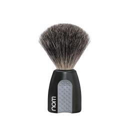 Nom Erik Pure Badger Shaving Brush (Black)
