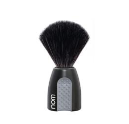 Nom Erik Black Shaving Brush (Black Synthetic)