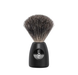 Nom Lasse Pure Badger Shaving Brush (Black)
