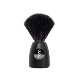 Nom Lasse Black Shaving Brush (Black Synthetic)
