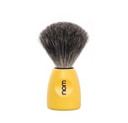 Nom Lasse Pure Badger Shaving Brush (Lemon)