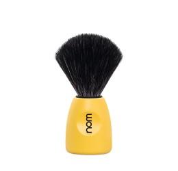 Nom Lasse Lemon Shaving Brush (Black Synthetic)