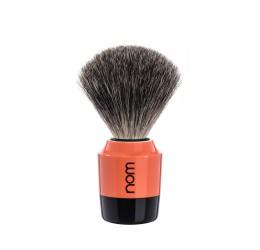 Nom Marten Pure Badger Shaving Brush (Coral)