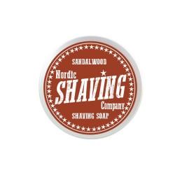 Nordic Shaving Company Sandalwood Shaving Soap 80g