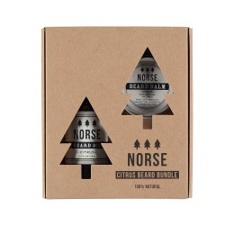 Norse Citrus Beard Bundle packaging