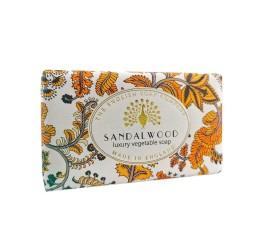 he English Soap Company Vintage Sandalwood Soap Bar 200g