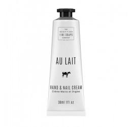 Scottish Fine Soaps Au Lait Hand & Nail Cream 30ml