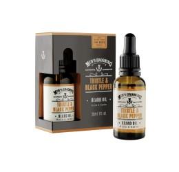 Scottish Fine Soaps Thistle & Black Pepper Beard Oil 30ml