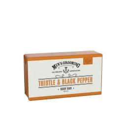 Scottish Fine Soaps Thistle & Black Pepper Body Bar 220g
