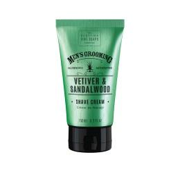 Scottish Fine Soaps Vetiver & Sandalwood Shave Cream 150ml