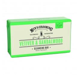 Scottish Fine Vetiver & Sandalwood Soap Bar 220g