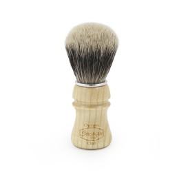 Semogue Owners Club Ash Wood Silver Tip Shaving Brush