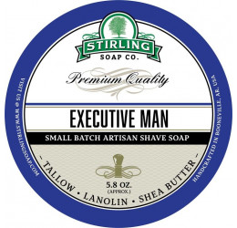 Stirling Soap Company Executive Man Shave Soap 164g