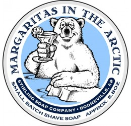 Stirling Soap Company Margaritas in the Arctic Shave Soap 164g