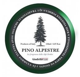 The Goodfellas' Smile Pino Alpestre Shaving Soap 150ml