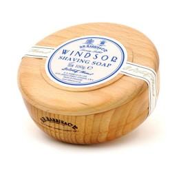 D R Harris Windsor Beechwood Shaving Bowl & Soap 100g